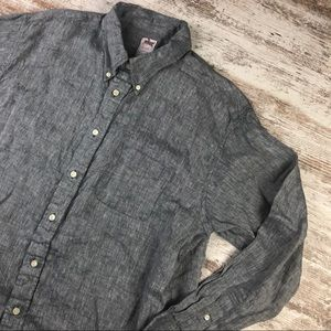 Brooks Brothers Madison Linen Button Up Shirt